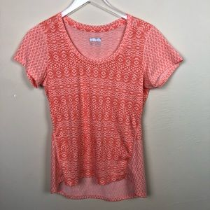 Marmot | Coral Patterned Top